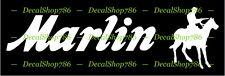 Marlin Firearms - Hunting/Outdoor Sports - Vinyl Die-Cut Peel N' Stick Decals