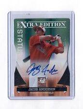 JACOB ANDERSON 2011 DONRUSS ELITE STATUS DIE CUT AUTO RC #25/25