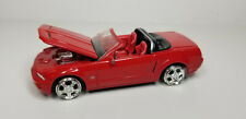 2004 Hot Wheels FORD MUSTANG GT CONCEPT Red Convertible 40th Anniversary Set Car