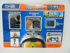 Explore One HD Action Helmet Camera Wifi 8GB Tripod