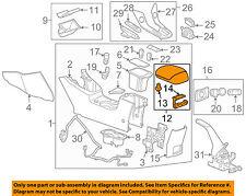 Chevrolet GM OEM 11-15 Cruze Center Console-Armrest Lid Cover Top 95910782