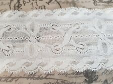 Grey Rigid Lace Trimming 10mts 3cm Wide