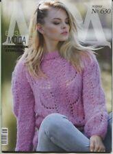 Zhurnal Mod 630 Journal Mod Knit Crochet Patterns Magazine Russian Free Shipping