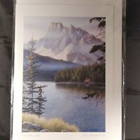 "Jake Vandenbrink Emerald Lake Print 9x6"" Frameable Canadian Art Card Series"