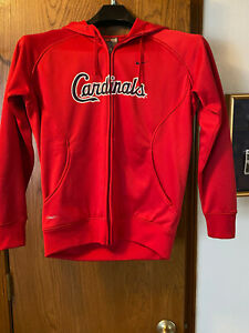 Nike Fit Therma Cardinals Hoodie Youth L (12-14).  Pre-owned in Great condition!