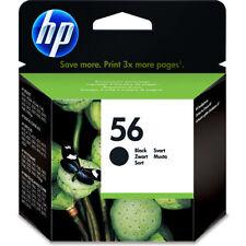 GENUINE HP HEWLETT PACKARD HP 56 BLACK INK CARTRIDGE C6656AE