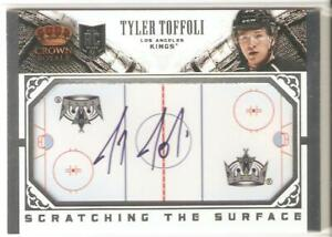 Tyler Toffoli 2013-14 Panini Crown Royale Scratching The Surface Auto