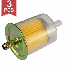 3X UNIVERSAL FUEL FILTERS 5/16