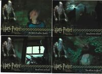 Harry Potter and the Prisoner of Azkaban Update Chase Card Set BT1-BT4
