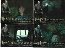 Harry Potter and the Prisoner of Azkaban Update Chase Card Set BT1-BT4