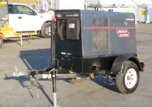 2011 Lincoln Vantage 500 Diesel SA Towable Welder Generator - PartsRepair