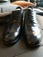 CALTO G1019- 3 Inches Elevator Height Increase Faux Patent Leather Style Sh