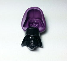 Silicone Mold Big 3D Darth Vader Star Wars Mould (38mm) Cake Decoration Soap Wax
