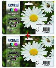 Epson Genuine Multipack Ink Cartridges for The Xp-30 to Xp-425 Printers
