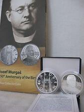 SLOWAKEI 2014 10 EURO SILBER MÜNZE COIN PP PROOF - JOZEF MURGAS -