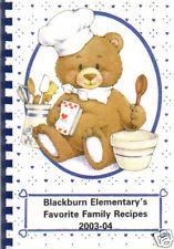 PALMETTO FL 2003 FAVORITE FAMILY RECIPES COOK BOOK * BLACKBURN ELEMENTARY SCHOOL