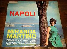 NAPOLI Miranda Martino Morricone & Orchestra Melodie LP RCA Italiana 1963