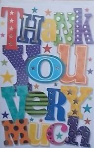 A GREAT THANK YOU VERY MUCH CARD GOOD QUALITY IW315P