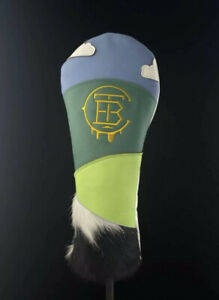 The Buck Club Chunky Dunky Dormie Workshop Leather Golf Driver Headcover RARE