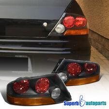 2003-2006 Mitsubishi Lancer EVO 8/9 Tail Lights Depo Black