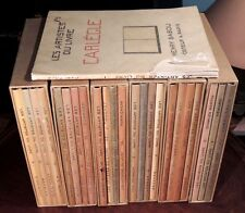 Henry Babou, « Les Artistes du livre », Collection complète 24 volumes, EO num.
