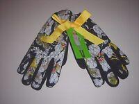Vera Bradley Fleece Lined Driving/Winter Gloves Dogwood Pattern Size S/M NWT