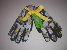 Vera Bradley Fleece Lined Driving/Winter Gloves Dogwood Pattern Size S/M NWT