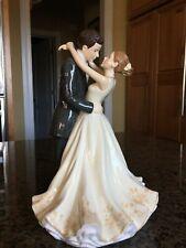 Royal Doulton Bride & Groom ~ Forever