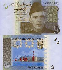 Pakistan 5 Rupees (2010) - Azam/Sea Port/p53c UNC
