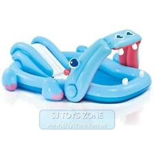 Intex Inflatable Hippo Kids Play Centre Pool with Slide Outdoor Swimming Fun Toy