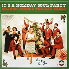 SHARON JONES SIGNED LOVE YA! IT'S A HOLIDAY SOUL PARTY LP ALBUM w/ THE DAP KINGS