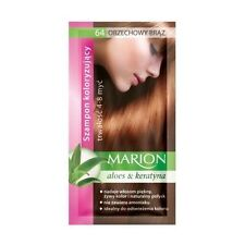 ## Marion Hair Color Shampoo in Sachet Lasting 4 to 8 Washes BUY 2 GET 1 FREE ##