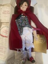 Franklin Heirloom Dolls- Little Red Riding Hood in Box Fast Shipping!