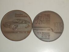 1978 Porsche Christophorus Calendar Coin Münze RARE!! AWESOME L@@K