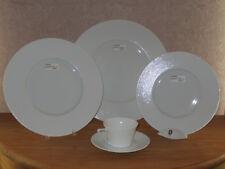 PHILIPPE DESHOULIERES *NEW* SEYCHELLES BLANC 6987 Set 3 Assiettes + 1 Tasse