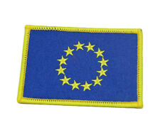 European Union Country Flag Wholesale lot of 3 Iron On Patch