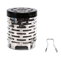 Stainless Steel Portable Mini Camping Warmer Heater Cap Outdoor Gas Stove Co jv