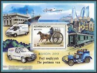 Aserbaidschan Azerbaijan Europa CEPT 2013, Postfahrzeuge, Block ** (postfrisch)