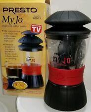 Presto My Jo k-cup single cup coffe maker New w/ box
