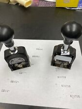Bates Royal Automatic Numbering Machine 6 wheels - RNM6-7
