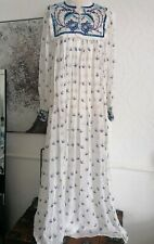 Antik Batik Dress maxi romantic bohemian xs 8/10 bnwt anthropolgie