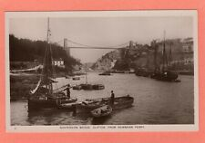 More details for clifton suspension bridge bristol from rownham ferry rp unused thatchers af172