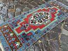 Carpet, Doormats, Small rug, Vintage handmade rug, Wool rug | 1,5 x 3,9 ft