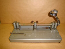 VINTAGE WILSON JONES HUMMER 3 HOLE PUNCH IN GOOD CONDITION SMOKE FREE