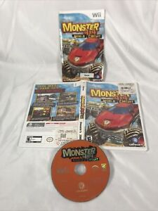 Monster 4X4: World Circuit (Nintendo Wii) Tested & Works Free Shipping