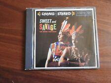 Los Indios Tabajaras Sweet And Savage RCA Living Stereo Europe CD