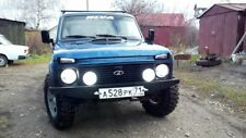 Lada Niva Fog Light White OEM Round Kit (Without H3 Lamps in kit)