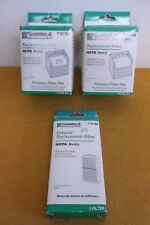 3 NEW KENMORE SEARS 2041704 UPRIGHT 31703 VACUUM PRIMARY & EXHAUST HEPA FILTER
