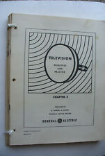 General Electric Television Prrinciples & practice technical service manual
