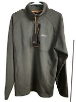 NWT Orvis Men's Trout Bum Soft Polyester / Spandex 1/4 Zip Pullover Size Medium